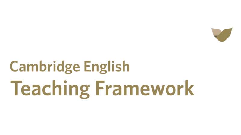 Cambridge English Framework logo