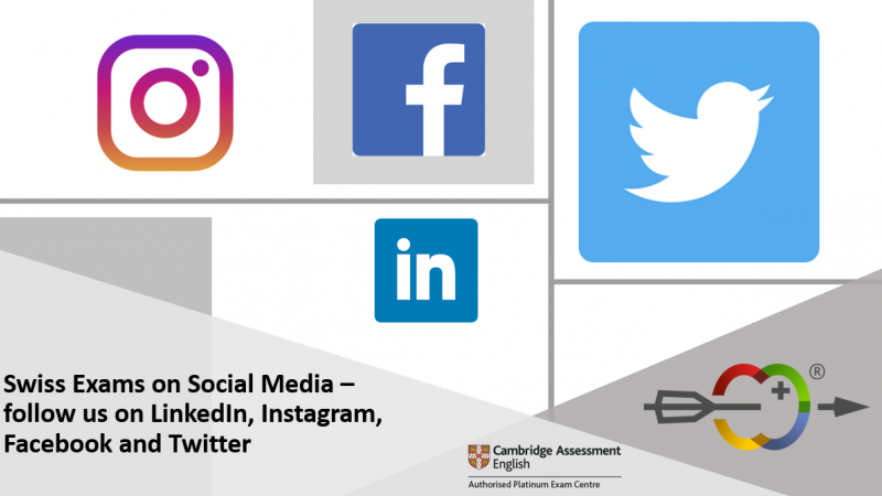 Swiss Exams On Social Media Follow Us On Linkedin Instagram Facebook And Twitter