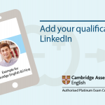 Ad your qualification to Linkedin