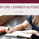 Using a guided writing task as a tool to scaffold learners' writing and nurture learner autonomy