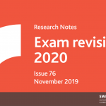 Research Notes Issue 76 Exam Revisions as part of ongoing quality assurance processes