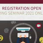 Spring Seminar 2021 – Registration is now open