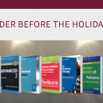Online shop book orders before holidays